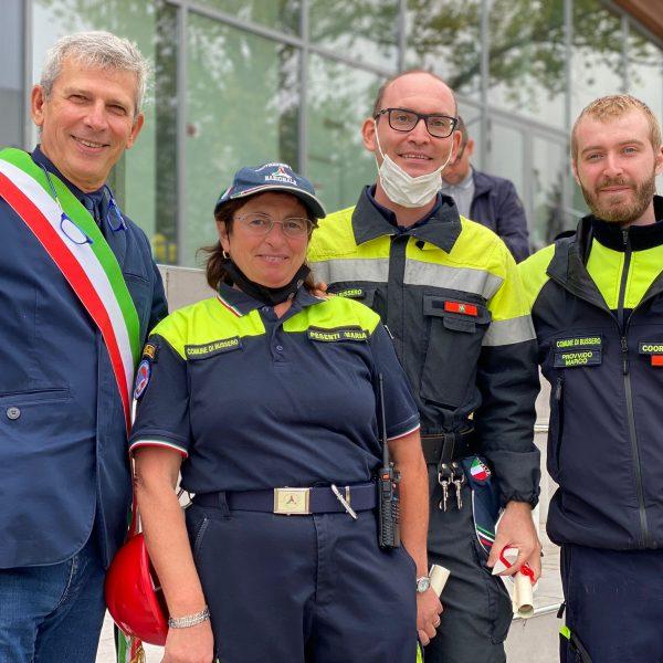 20 anni di Protezione Civile - Pesenti Maria e Vergani Matteo, volontari dal 2005