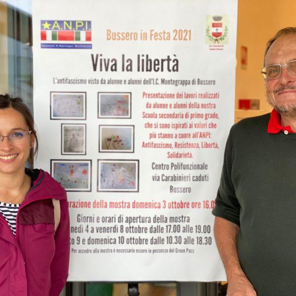 La mostra Viva la libertà a cura dell'ANPI di Bussero
