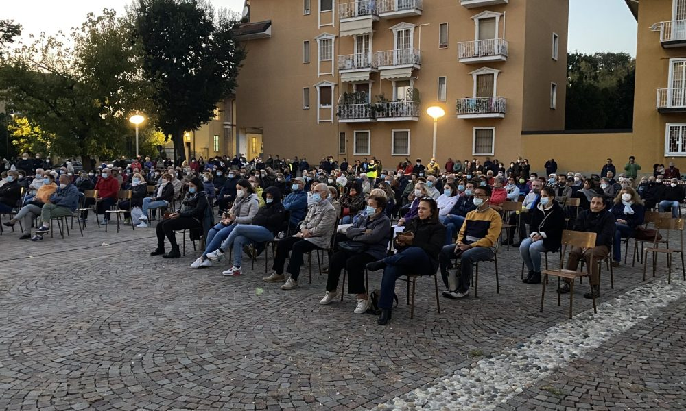 Il pubblico al concerto del Coro Elikya