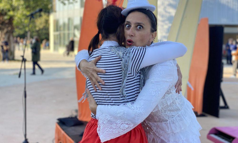 """Lo spettacolo teatrale """"Le sorelline"""" dell'Associazione Trapezzisti Danzerini"""